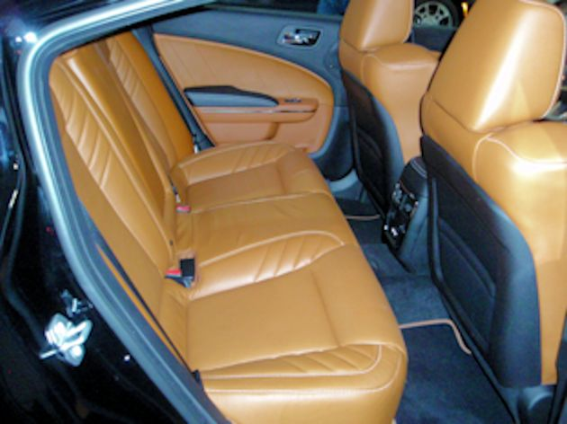 2015 Dodge Charger rear seat