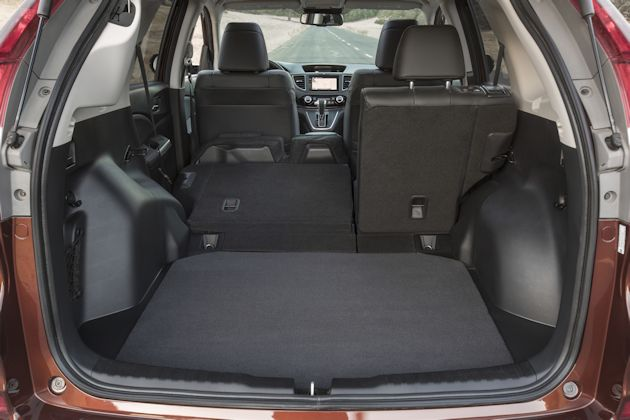 2015 Honda CR-V cargo forward