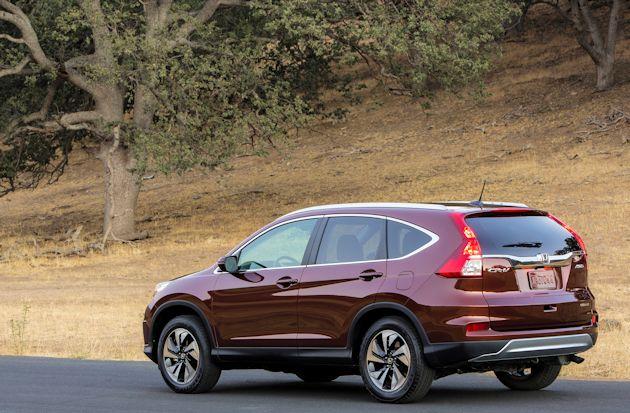 2015 Honda CR-V doors rear q