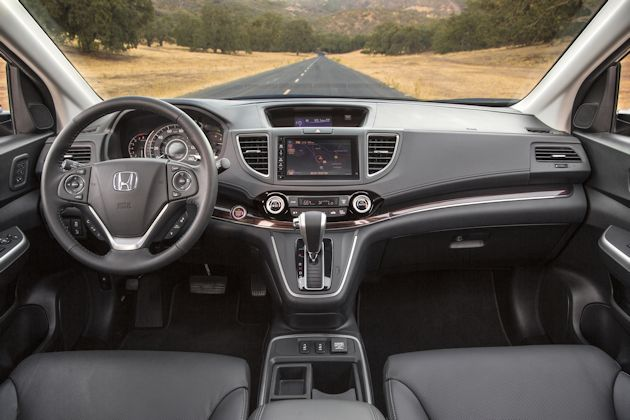 2015 Honda CR-V interior 2