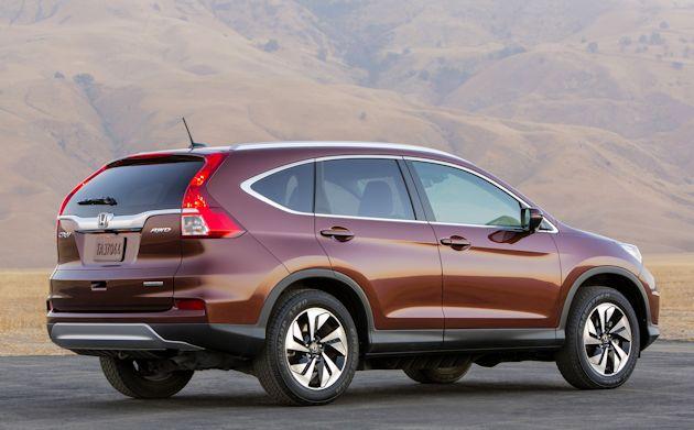 2015 Honda CR-V rear q