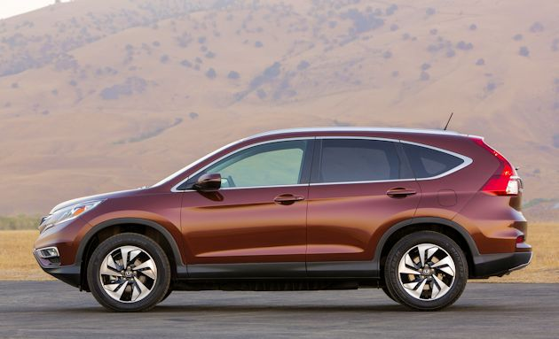 2015 Honda CR-V side 2
