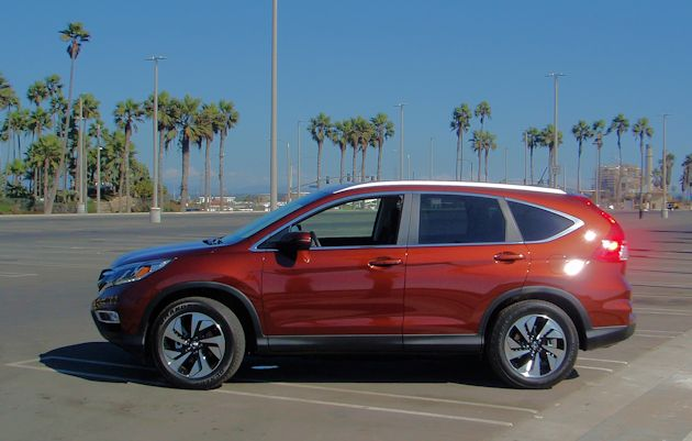 2015 Honda CR-V side