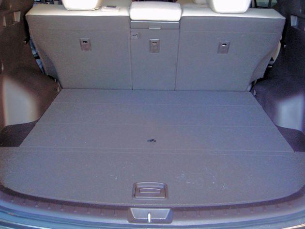 2015 Hyundai Santa Fe Sport cargo