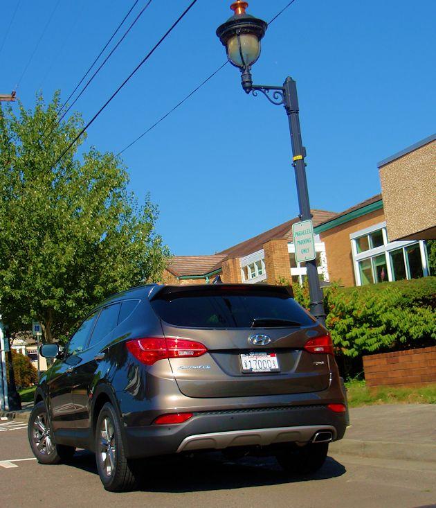 2015 Hyundai Santa Fe Sport rear