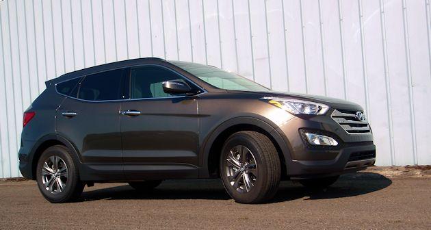 2015 Hyundai Santa Fe Sport side