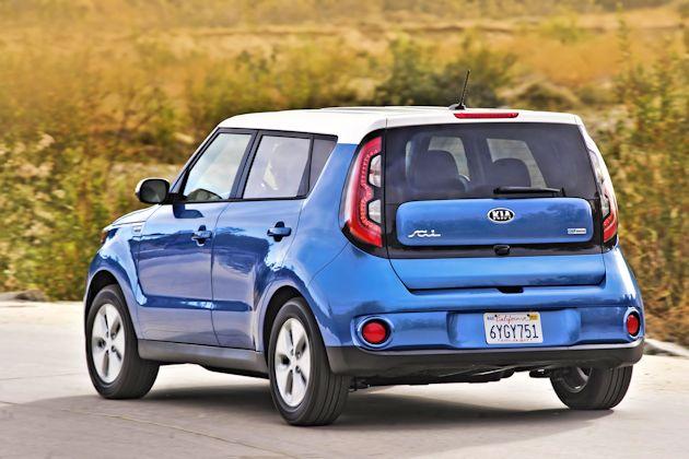 2015 Kia Soul EV rear
