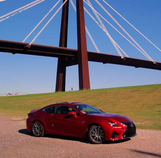 2015 Lexus RC F front q bridge