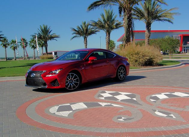 2015 Lexus RC F front q