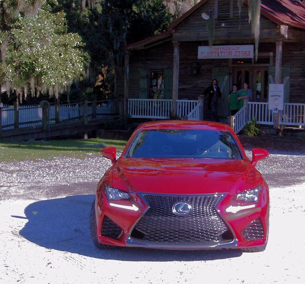 2015 Lexus RC F front