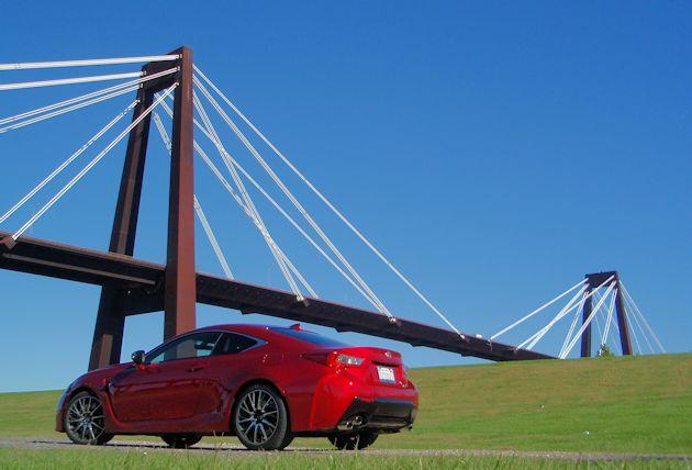 2015 Lexus RC F rear q bridge