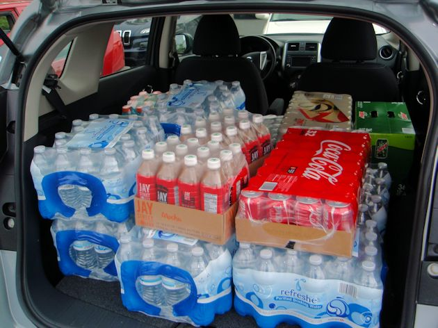 2015 Nissan Versa Note full cargo