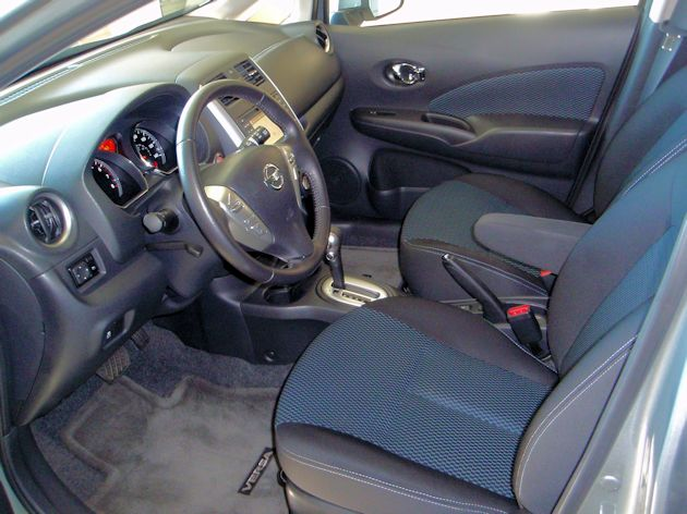 Nissan versa note test drive our auto expert for Nissan versa note interior dimensions