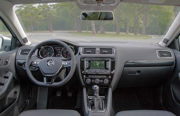 2015 VW Jetta TDI dash