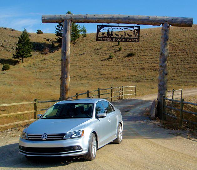 2015 VW Jetta TDI front