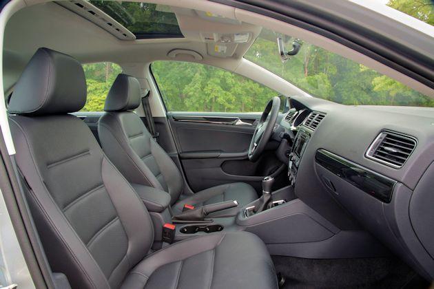 2015 VW Jetta TDI interior