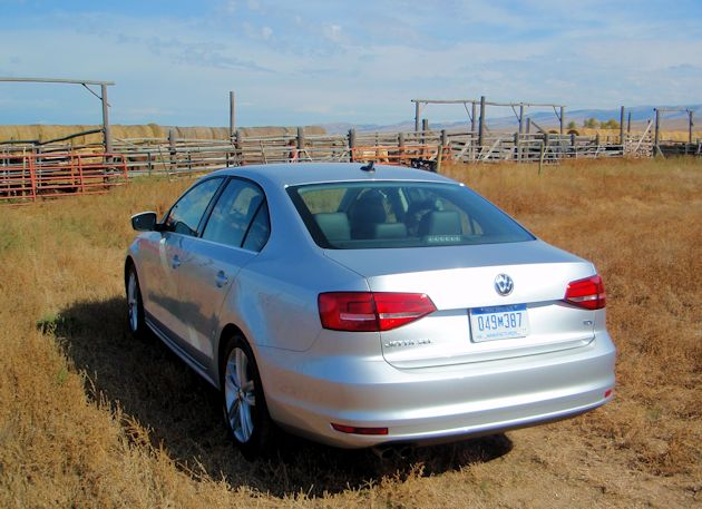 2015 VW Jetta TDI rear q ranch