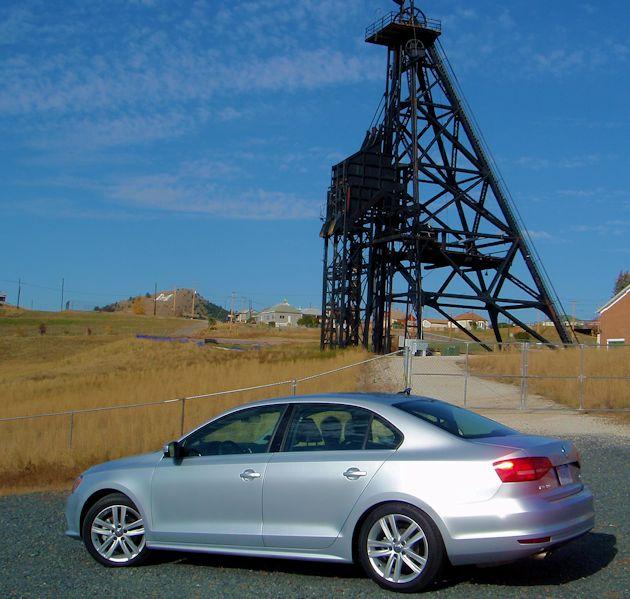 2015 VW Jetta TDI side mine