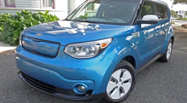 2015 Kia Soul EV+ Test Drive