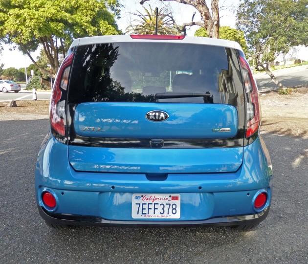 Kia Soul EV Tail