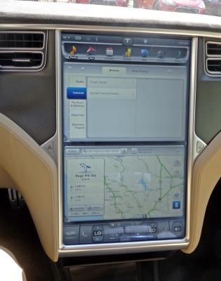 Tesla Model S P85+ Chg C Pad