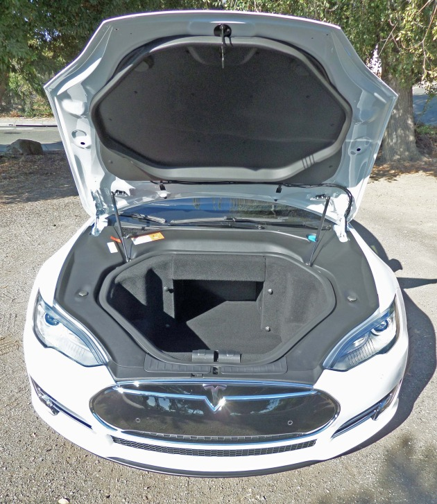 Tesla Model S P85+ Frunk