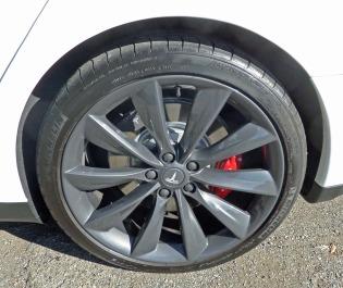 Tesla Model S P85+ Whl
