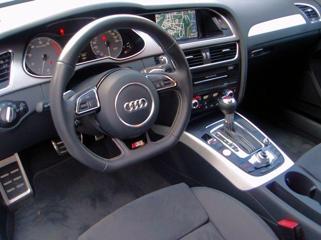 2014 Audi S4 interior