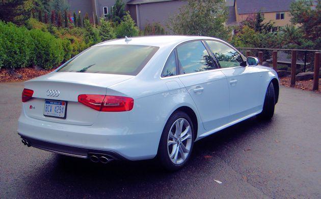 2014 Audi S4 rear q