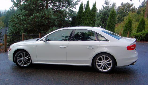 2014 Audi S4 side