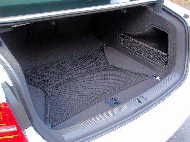 2014 Audi S4 trunk