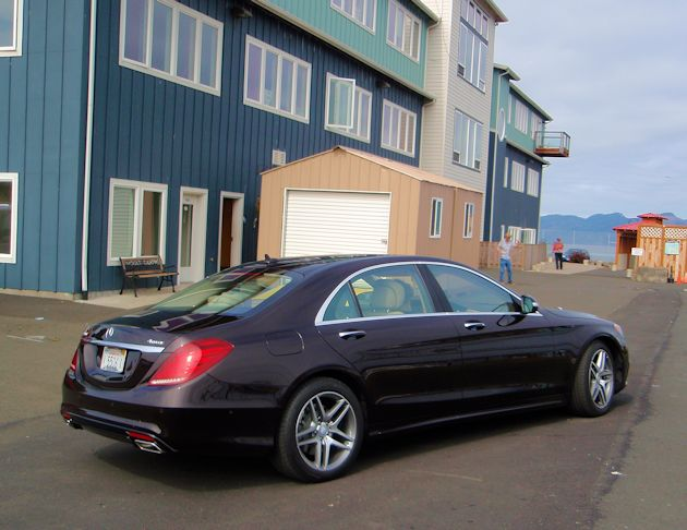 2014 Mercedes-Benz S550 rear q