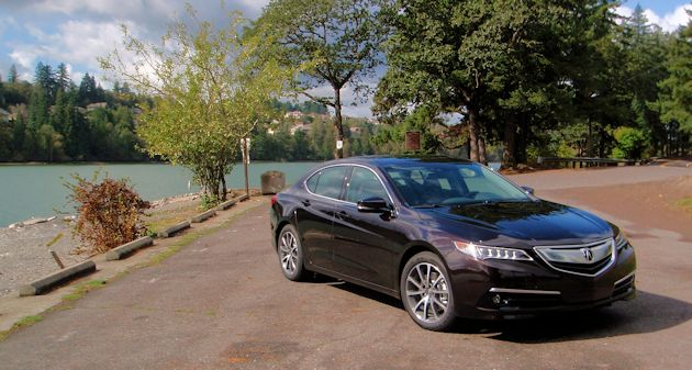 2015 Acura TLX front q