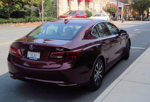 2015 Acura TLX rear 2