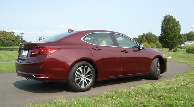 2015 Acura TLX rear q