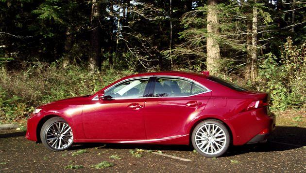 2015 Lexus IS 250 side 2