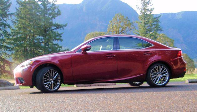2015 Lexus IS 250 side