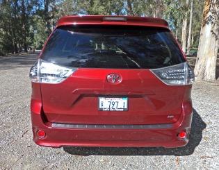 Toyota Sienna Tail