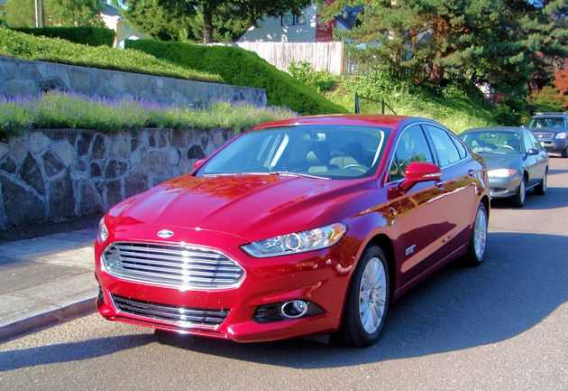 2015 Ford Fusion  Energi front
