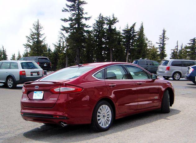 2015 Ford Fusion  Energi rear q