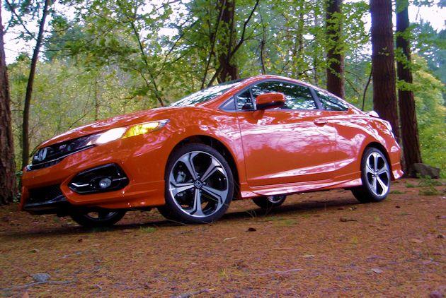2015 Honda Civic Coupe front q2