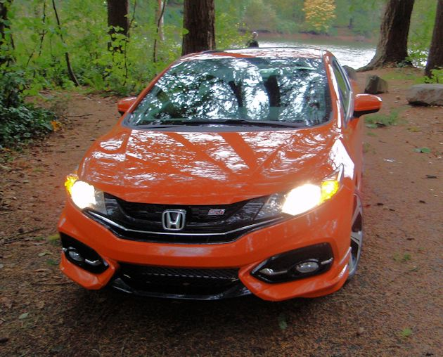 2015 Honda Civic Coupe front