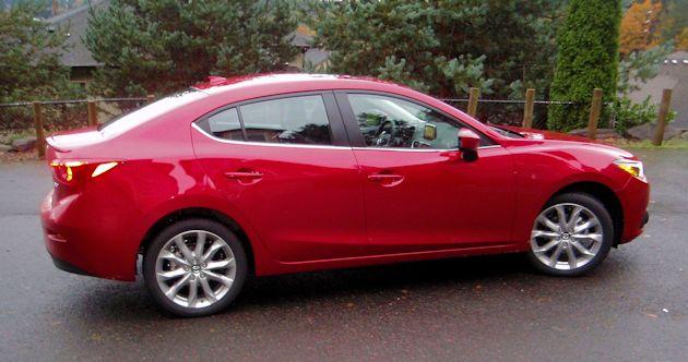 2015 Mazda3 GT side