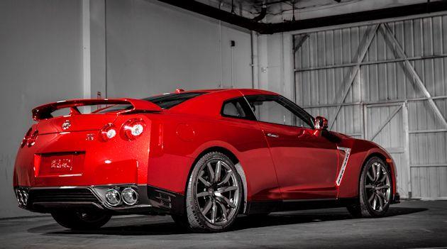 2015 Nissan GT-R rear 2