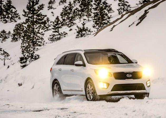 2016 Kia Sorrento lights