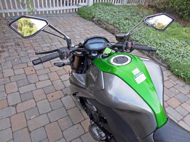 Kawasaki Z1000 Cntrls