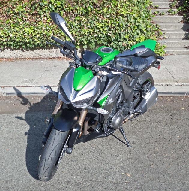 Kawasaki Z1000 LSF 1
