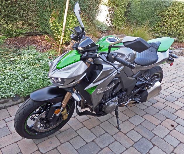 Kawasaki Z1000 LSF