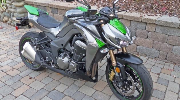 2015 Kawasaki Z1000 ABS Test Ride