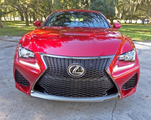 Lexus RC F Nose